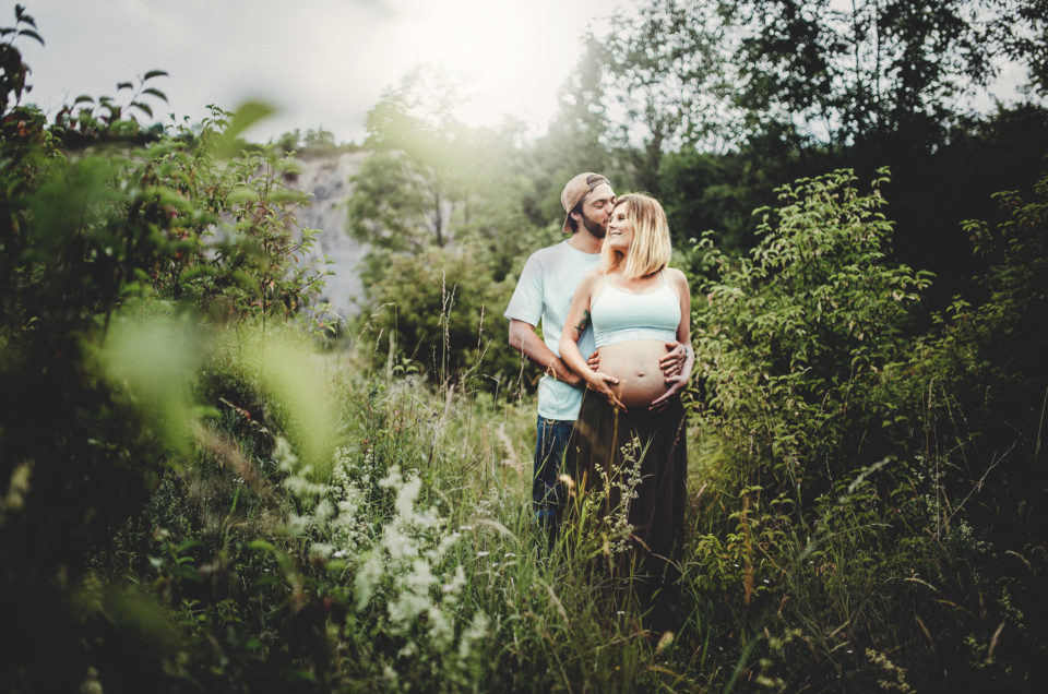 Babybauchshooting mit Friederike & Tom